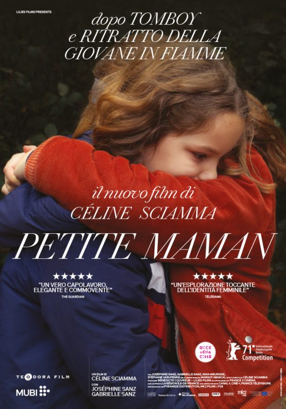 locandina del film Petite Maman – da venerdì 29 ottobre