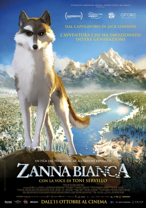 zanna bianca - locandina 2018